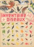 Virginie Aladjidi et Emmanuelle Tchoukriel - Inventaire illustré des oiseaux.