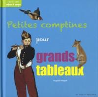 Virginie Aladjidi - Petites comptines pour grands tableaux. 1 CD audio
