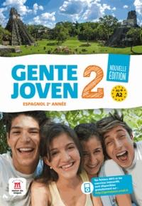 Virginie Auberger Stucklé et Stéphanie Figueiredo - Espagnol 2e année Gente Joven 2 A1-A2.