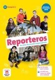 Virginie Auberger Stucklé et Sandrine Debras - Espagnol 5e A1 Reporteros. 1 DVD + 1 CD audio