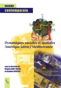 Virginie Baby-Collin et Delphine Mercier - Dynamiques sociales et spatiales, Amérique latine-Méditerranée.