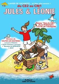 Virginie Becquet et Laetitia Zink - Cahier de vacances Jules et Léonie du CE2 au CM1.