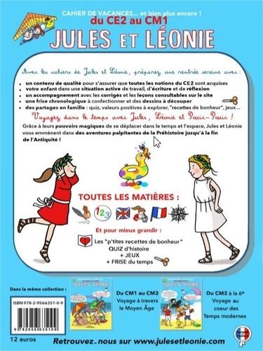 Cahier de vacances Jules et Léonie du CE2 au CM1. Explorateurs de notre histoire pour construire l'avenir...