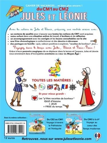 Cahier de vacances Jules et Léonie du CM1 au CM2. Explorateurs de notre histoire pour construire l'avenir...