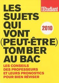 Virginie Bertereau et Sandrine Chesnel - Les sujets qui vont (peut-être) tomber au bac.