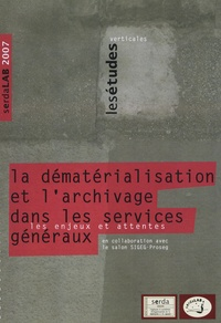 Virginie Boillet - La dématérialisation et l'archivage dans les services généraux - Les enjeux et attentes.
