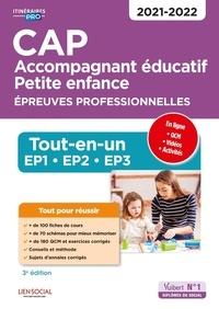 Virginie Châteaureynaud et Irène Duchesne - CAP Accompagnant éducatif petite enfance - Epreuves professionnelles. Tout-en-un pour réussir les EP1, EP2, et EP3.