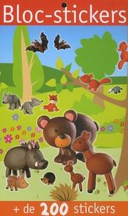 Virginie Chiodo - Bloc-stickers animaux de la forêt - + de 200 stickers.