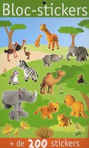 Virginie Chiodo - Bloc-stickers animaux sauvage - + de 200 stickers.