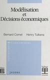 Virginie Cornet - Modélisation et décisions économiques.