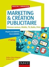 Marketing & créations publicitaires- Réseaux sociaux, mobile, TV, radio, print - Virginie de Barnier  
