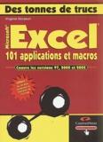 Virginie Dorseuil - Excel - 101 applications et macros. 1 Cédérom