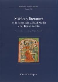 Virginie Dumanoir - Musica y literature en Espana de la Edad Media y del Renacimiento.