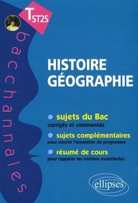 Virginie Freuchet - Histoire-géographie Terminale ST2S.