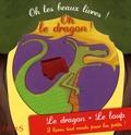 Virginie Guérin - Coffret Oh le loup ! ; Oh le dragon !.
