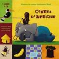 Virginie Guérin et Souleymane Mbodj - Contes d'Afrique. 1 CD audio
