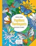 Virginie Guyard - Flamboyants papillons - 100 dessins à colorier.