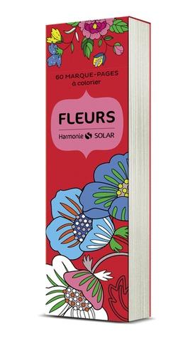 Virginie Guyard - Fleurs - 60 marque-pages à colorier.