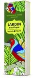 Virginie Guyard - Jardin exotique - 60 marque-pages à colorier.