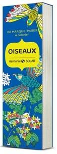 Virginie Guyard - Oiseaux - 60 marque-pages à colorier.