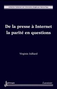 Virginie Julliard - De la presse à Internet : la parité en questions.