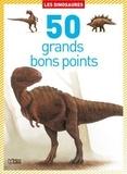 Virginie Loubier et Gérard Marié - Les dinosaures - 50 grands bons points.