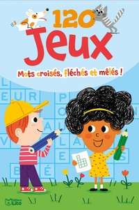 Virginie Loubier et Marion Piffaretti - Mots croisés, fléchés et mêlés !.