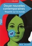 Virginie Manouguian et Claude Bourgeyx - Douze nouvelles contemporaines - Regards sur le monde.