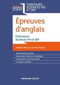 Virginie Marcucci et Elise Trogrlic - Epreuves d'anglais - Concours Sciences Po et IEP.