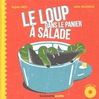 Virginie Piatti et Julien Billaudeau - Le loup dans le panier à salade. 1 CD audio
