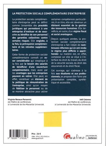 La protection sociale complémentaire d'entreprise