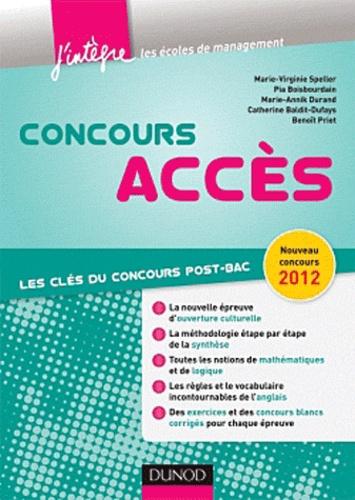 Virginie Speller et Pia Boisbourdain - Concours Accès - Les clés du concours post-bac.