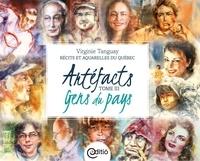 Virginie Tanguay et Alexandre Beliard - Artéfacts - Tome III, Gens du pays - Récits et aquarelles du Québec.