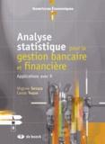 Virginie Terraza et Carole Toque - Analyse statistique pour la gestion bancaire et financière - Applications avec R.