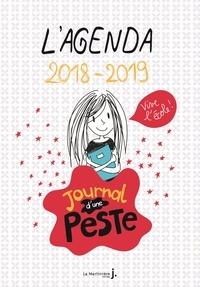 Virginy L. Sam et Marie-Anne Abesdris - L'agenda Journal d'une peste.