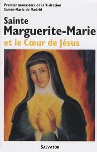 Galabria.be Sainte Marguerite-Marie et le Coeur de Jésus Image