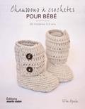 Vita Apala - Chaussons à crocheter pour bébés - 30 modèles 0 à 12 mois.