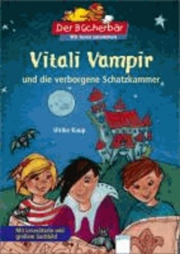 Vitali Vampir und die verborgene Schatzkammer - Mit Leserätseln und großem Suchbild.