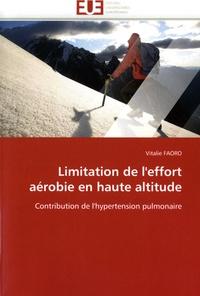 Checkpointfrance.fr Limitation de l'effort aérobie en haute altitude - Contribution de l'hypertension pulmonaire Image