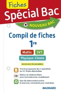 Vito Punta et Christian Mariaud - Maths, SVT, Physique-Chimie 1re - Compil de fiches.