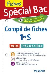 Vito Punta et Christian Mariaud - Spécial bac maths, physique-chimie - Compil de fiches 1re S.