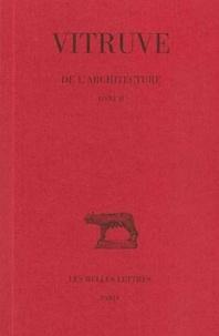 Vitruve et Catherine Jacquemard - De l'architecture N°  2 : .