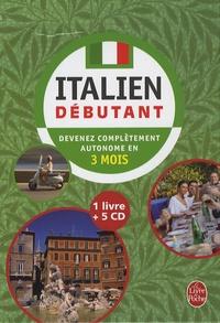 Ucareoutplacement.be Coffret Italien débutant : 1 Livre + 5 CD Image