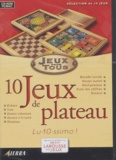 Anonyme - 10 jeux de plateau. - CD-ROM.