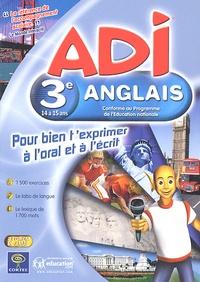 Coktel - ADI anglais 3ème. 2 Cédérom