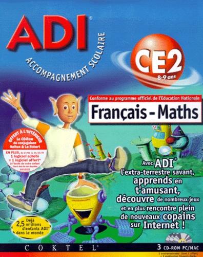Adi Francais Maths Ce2 3 Cd Rom Et 1 Cd Rom De De Collectif Livre Decitre