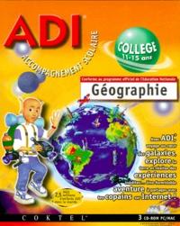 Coktel - ADI GEOGRAPHIE COLLEGE. 3 Cédérom