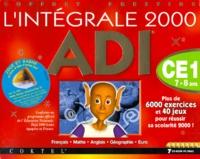 Coktel - ADI L'intégrale CE1 - Coffret prestige, édition 2000. 7 Cédérom