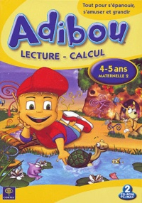 Coktel - Adibou lecture-calcul - 4-5 ans maternelle 2, CD-ROM.