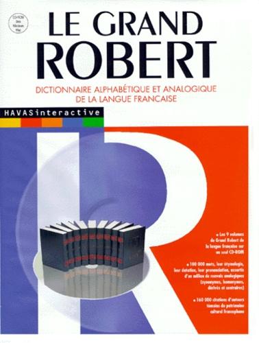 Le Grand Robert Dictionnaire Alphabétique Et Analogique De La Langue Française Cd Rom Pdf Drivkenslasltedtete4